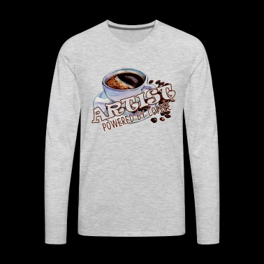 Coffee Shirt - Men's Premium Long Sleeve T-Shirt