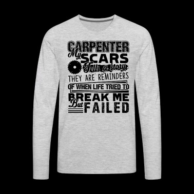 Carpenter Shirt - Men's Premium Long Sleeve T-Shirt