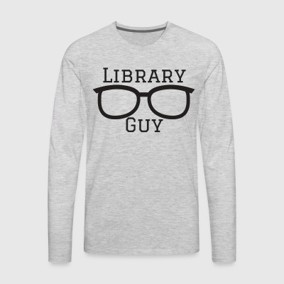 Library Guy - Men's Premium Long Sleeve T-Shirt