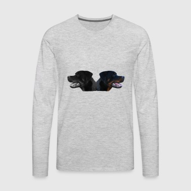 Dog,dog head,dog face,dog breed,doge,dog lover,dog - Men's Premium Long Sleeve T-Shirt