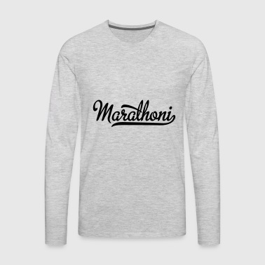 marathon - Men's Premium Long Sleeve T-Shirt