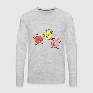hop - Men's Premium Long Sleeve T-Shirt