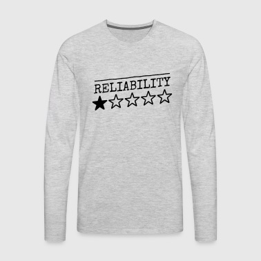 reliability - Men's Premium Long Sleeve T-Shirt