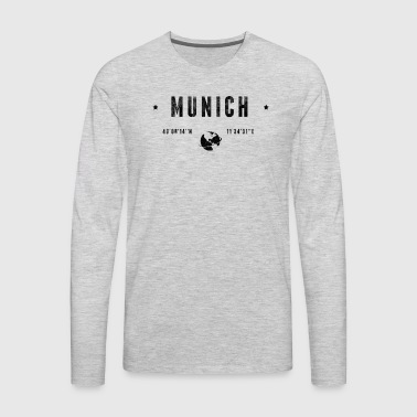 Munich - Men's Premium Long Sleeve T-Shirt