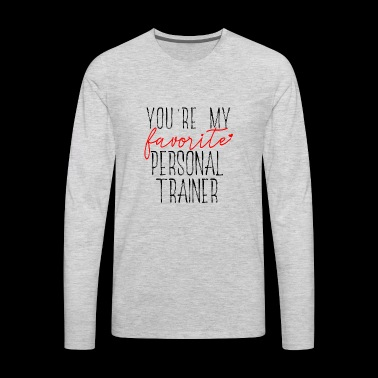 Favorite Trainer - Men's Premium Long Sleeve T-Shirt