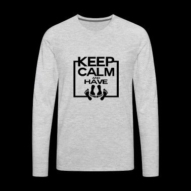 Keep calm and have sex Bedroom 3 - Men's Premium Long Sleeve T-Shirt