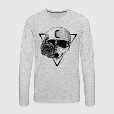 LONE WOLF - Men's Premium Long Sleeve T-Shirt