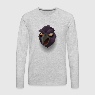 raven bird - Men's Premium Long Sleeve T-Shirt
