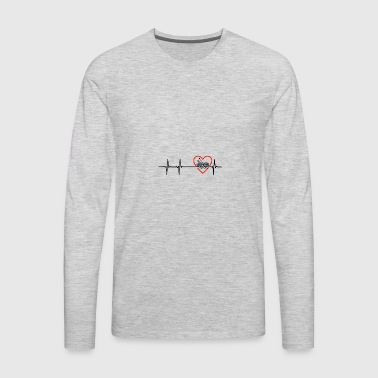 knit design - Men's Premium Long Sleeve T-Shirt