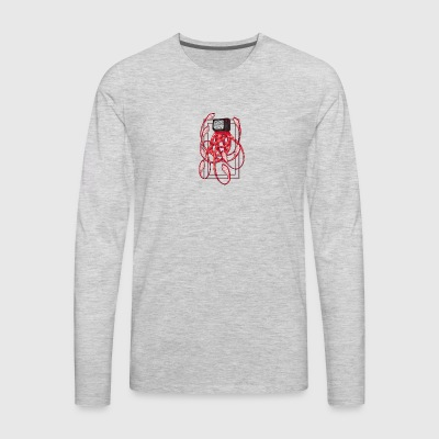 Octopus TV, Octopus television - Men's Premium Long Sleeve T-Shirt
