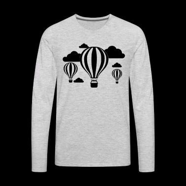 Hot Air Balloons Shirt - Hot Air Balloons T shirt - Men's Premium Long Sleeve T-Shirt