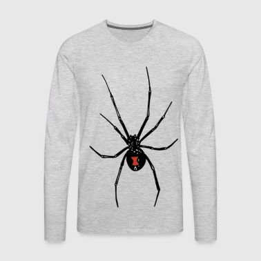 Black Widows Reach - Men's Premium Long Sleeve T-Shirt
