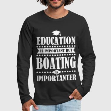 BOATING 4.png - Men's Premium Long Sleeve T-Shirt