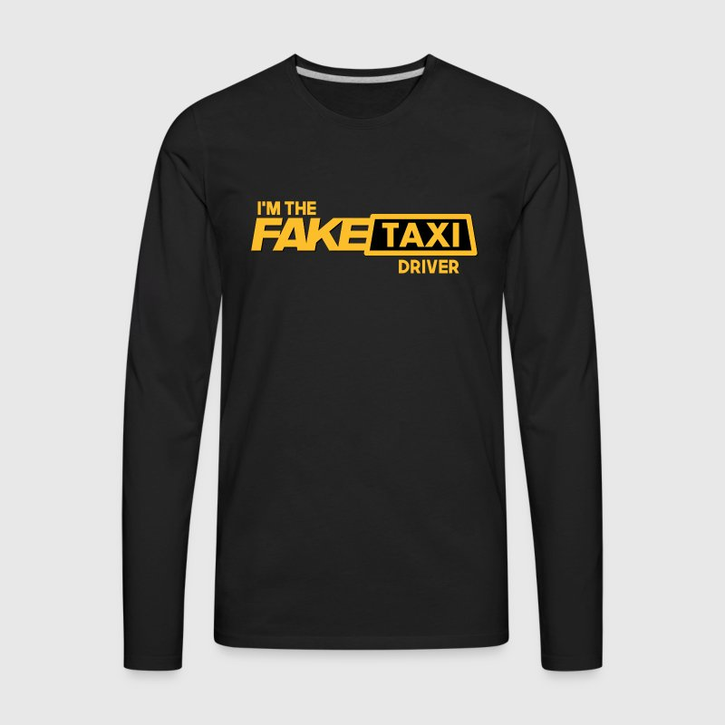 Fake Taxi - Men's Premium Long Sleeve T-Shirt
