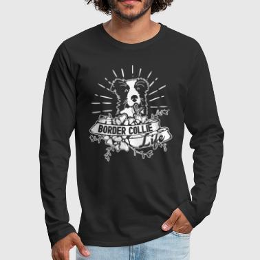 Border Collie Shirts - Men's Premium Long Sleeve T-Shirt