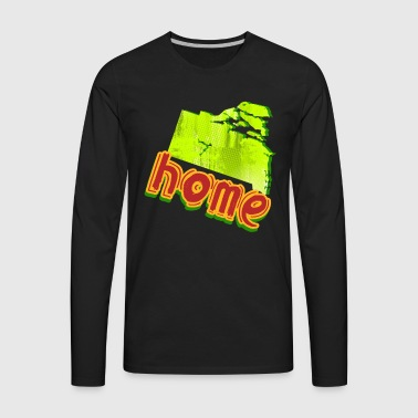 Rhode Island T Shirt - Men's Premium Long Sleeve T-Shirt