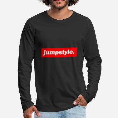 Jumpstyle techno mischpult red bass bpm jumpstyle - Men's Premium Long Sleeve T-Shirt
