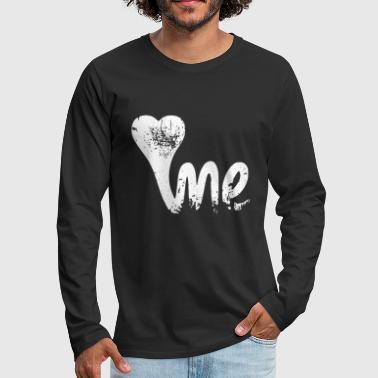 LOVE ME - Men's Premium Long Sleeve T-Shirt