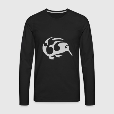 New Zealand Koru Kiwi - Men's Premium Long Sleeve T-Shirt