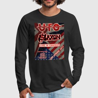 Ufo and Saxon USA SPRING Tour 2017 - Men's Premium Long Sleeve T-Shirt