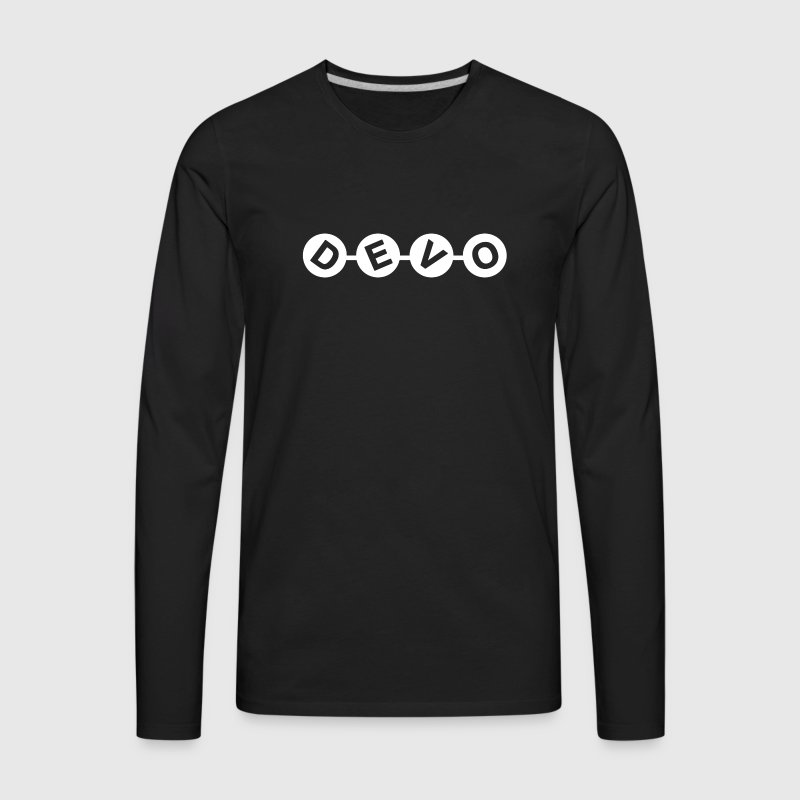 devo - Men's Premium Long Sleeve T-Shirt