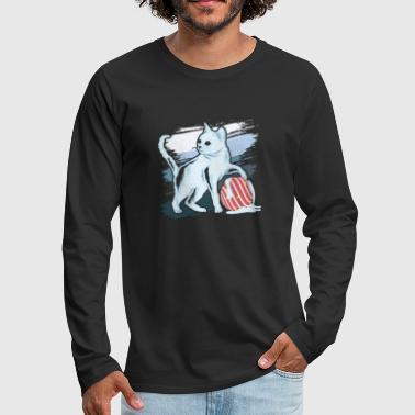 Ice Cat - Men's Premium Long Sleeve T-Shirt