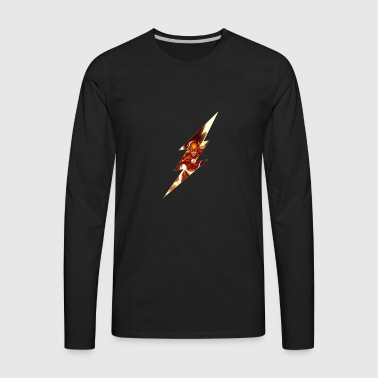 Flash Lightning Bolt - Men's Premium Long Sleeve T-Shirt