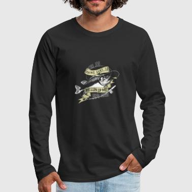 fishing Career - Men's Premium Long Sleeve T-Shirt