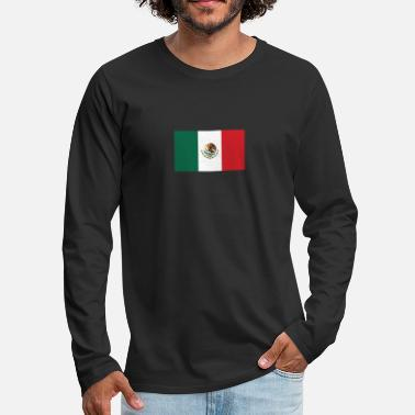 Guatemala National Flag Of Mexico - Men's Premium Long Sleeve T-Shirt