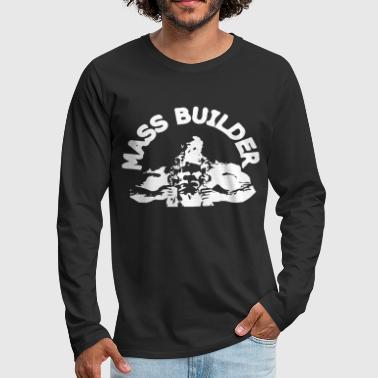 mass builderbodybuilder - Men's Premium Long Sleeve T-Shirt