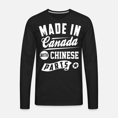 ade628c15 Canadian Chinese Men's Premium T-Shirt | Spreadshirt