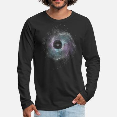 Bass Player Space Music - Men's Premium Long Sleeve T-Shirt
