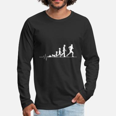 Just Running athlete - Men's Premium Longsleeve Shirt