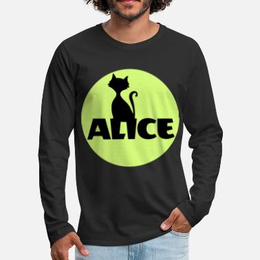 Name Day Alice First name Name Personal gift Name day - Men's Premium Longsleeve Shirt