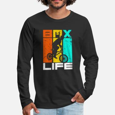 Bmx Bike Motocross BMX Present Gift Idea T-Shirt - Men's Premium Longsleeve Shirt