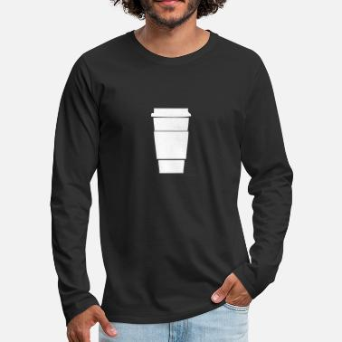 Paper Paper Cup - Men's Premium Long Sleeve T-Shirt