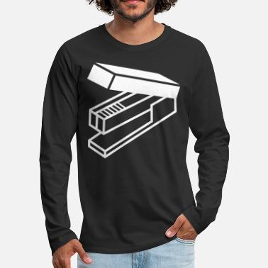 Large Large Stapler - Men's Premium Long Sleeve T-Shirt