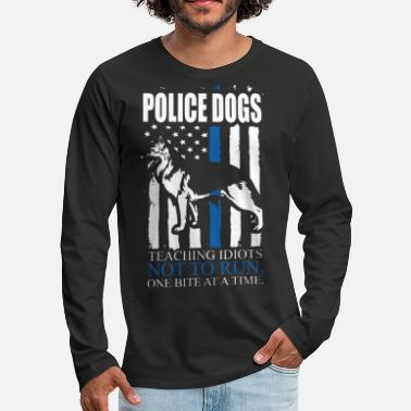 Police Dog Police Dogs Shirts - Men's Premium Longsleeve Shirt