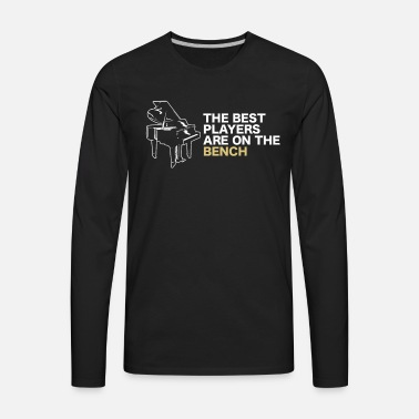 dbd2ce2a5e The Best Players Are On The Bench Piano TShirt Unisex Baseball T ...