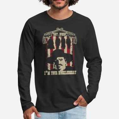Im Huckleberry shirt - Men's Premium Longsleeve Shirt