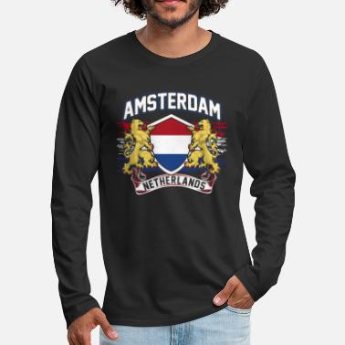 Netherlands Netherlands - Men's Premium Long Sleeve T-Shirt