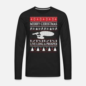 Star Trek Star Trek Ugly Christmas Sweater F By Spreadshirt