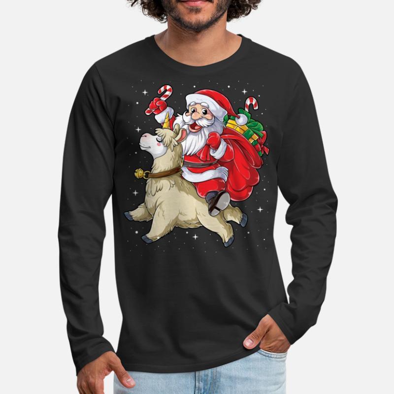 0d6da281dba6 Shop Christmas Long-Sleeve Shirts online | Spreadshirt