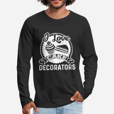 Cake Cake Decorator Shirt - Men's Premium Longsleeve Shirt