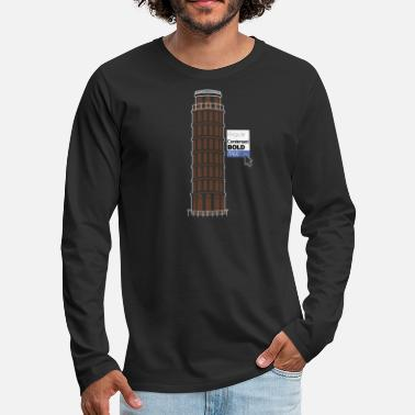 Inclined Tower Italic Pisa - Men's Premium Longsleeve Shirt