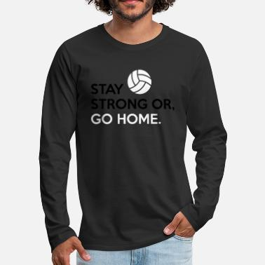 Volleyball Player Volleyball Player - Men's Premium Long Sleeve T-Shirt