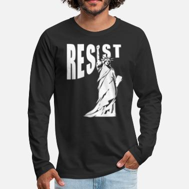NY resist - Men's Premium Longsleeve Shirt