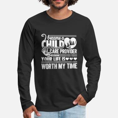 Care Child Care Provider - Men's Premium Long Sleeve T-Shirt