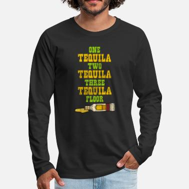 Two One Two Three Tequila - Men's Premium Longsleeve Shirt