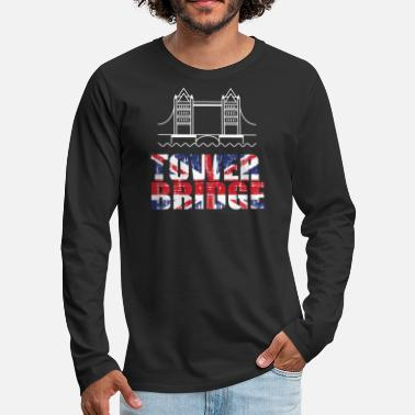 Tower Bridge Tower Bridge - Men's Premium Longsleeve Shirt